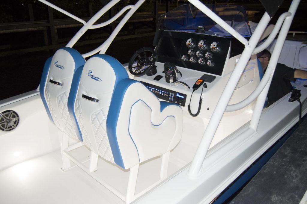 32' cuddy helm seat