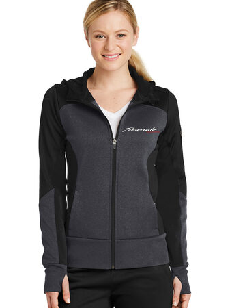 women's jacket black/grey