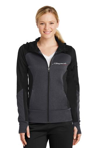 women's jacket black/grey