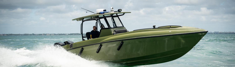 33' renegade patrol boat