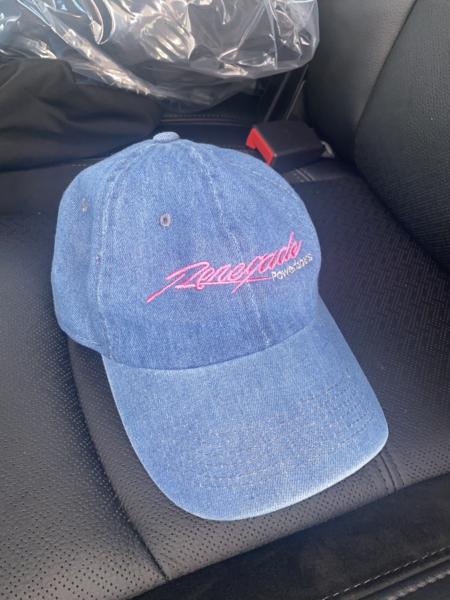 denim blue hat