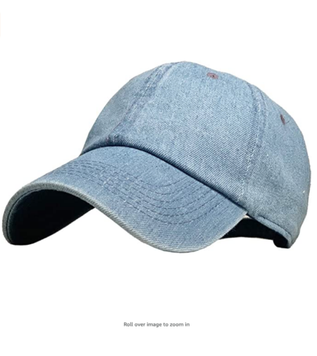 denim women's hat
